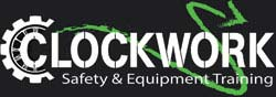 Clockwork Safety Equipment Training Logo